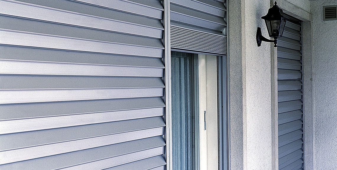 Security shutters - SECURE FL1000 lock | Sun Protection and Weather Protection with STOBAG
