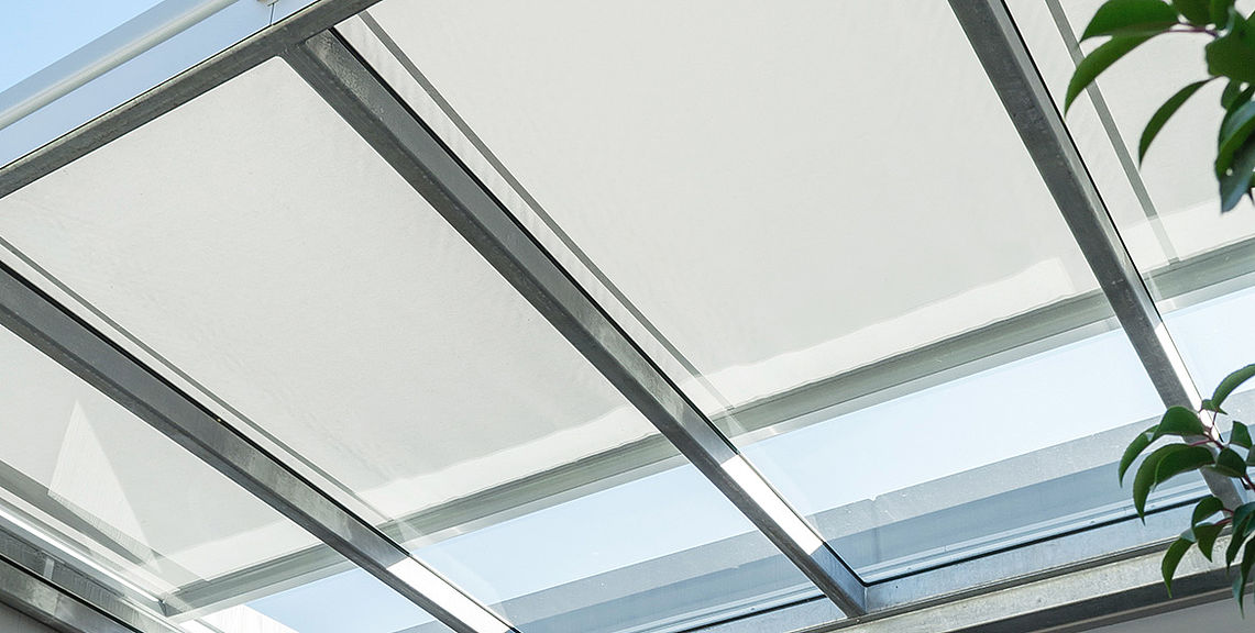 Conservatory shadings - AIROMATIC PS4500 | Sun Protection and Weather Protection with STOBAG