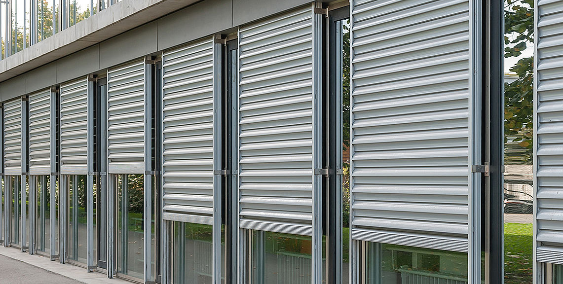 Security shutters - SECURE FL1000 burglary protection | Sun Protection and Weather Protection with STOBAG