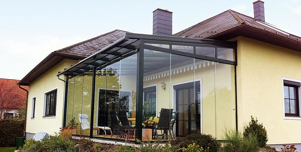 Glazing systems SV1020 | Sun Protection and Weather Protection with STOBAG