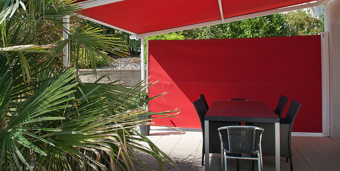 Side shadings - SIRO-FLEX SR5000 | Sun Protection and Weather Protection with STOBAG