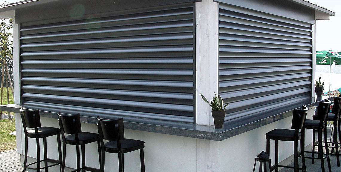 Security shutters - SECURE FL1000 | Sun Protection and Weather Protection with STOBAG