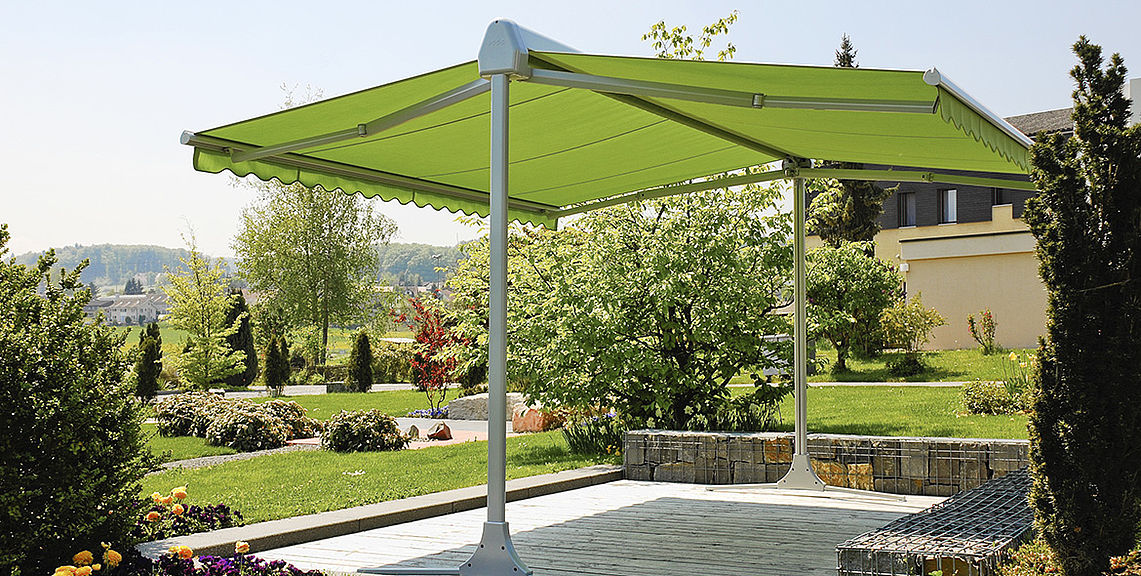 Mobile awnings - OMBRAMOBIL OS4000 | Sun Protection and Weather Protection with STOBAG