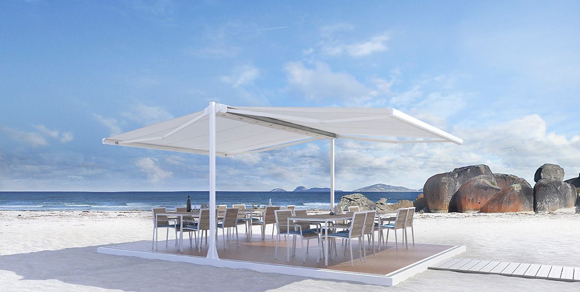 Floor system - SB4700 FLOOR SYSTEM flexible | Sun Protection and Weather Protection with STOBAG
