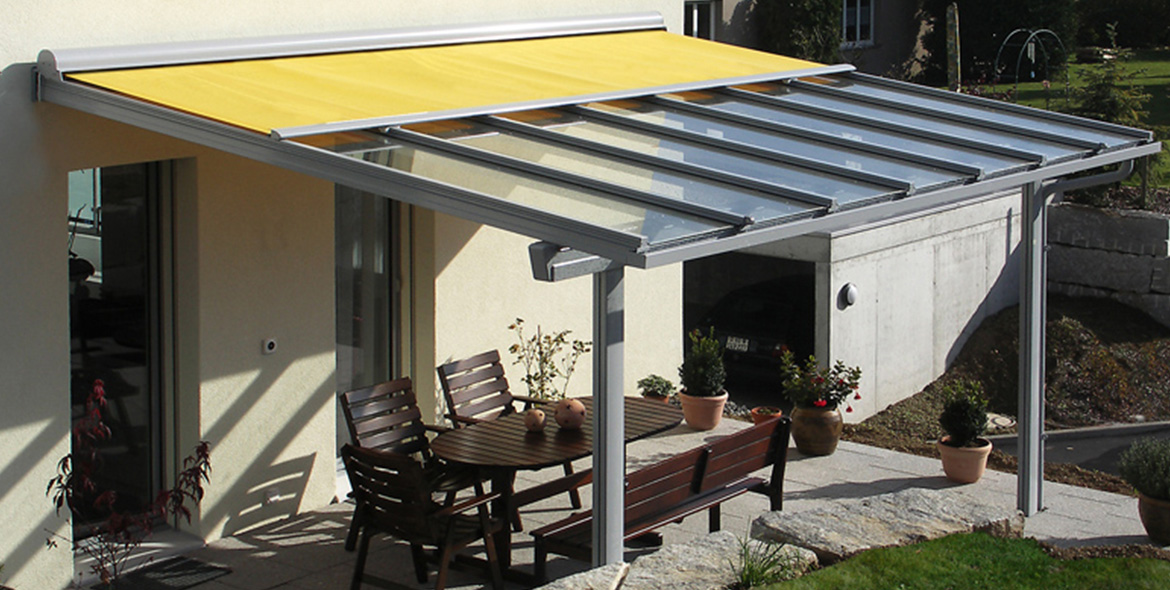 glass roof system sun protection with stobag sonnenschutz mit stobag. Black Bedroom Furniture Sets. Home Design Ideas