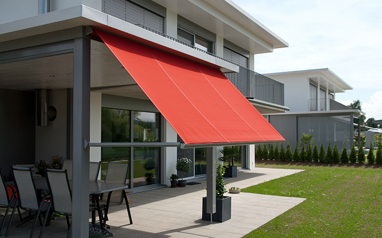 Drop arm and window awnings METRO S3110 by STOBAG