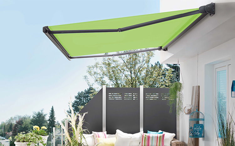Box awnings PURABOX BX1500 by STOBAG