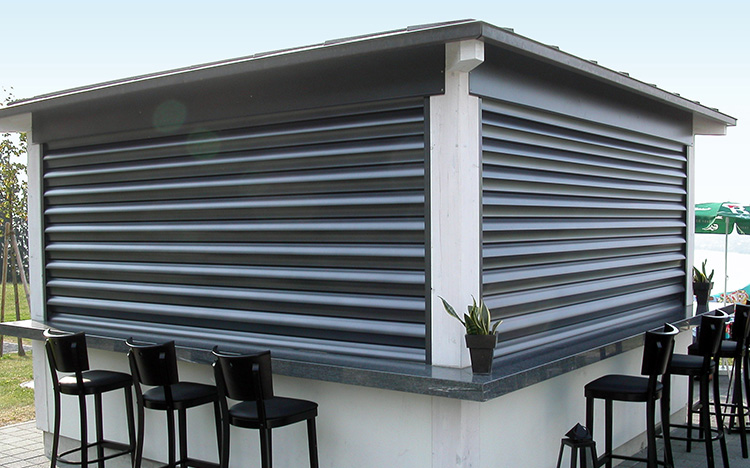 Security shutter SECURE FL1000 by STOBAG