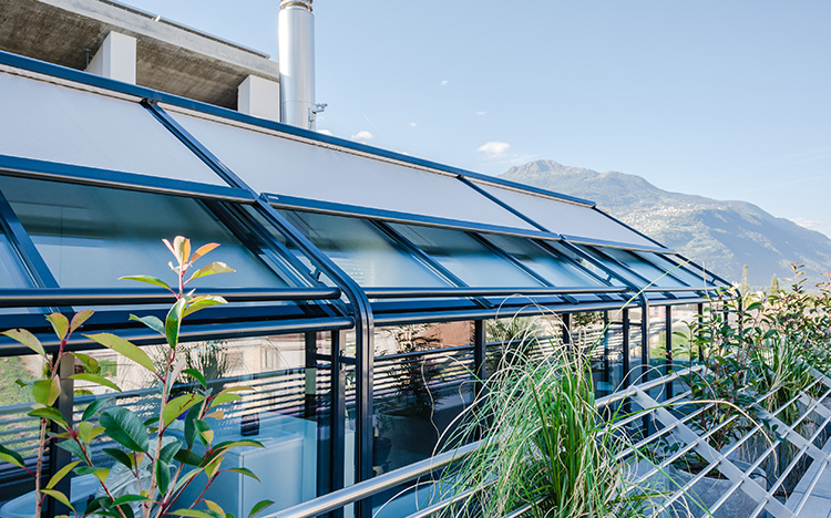 Conservatory shading ARCADA PS3000 by STOBAG
