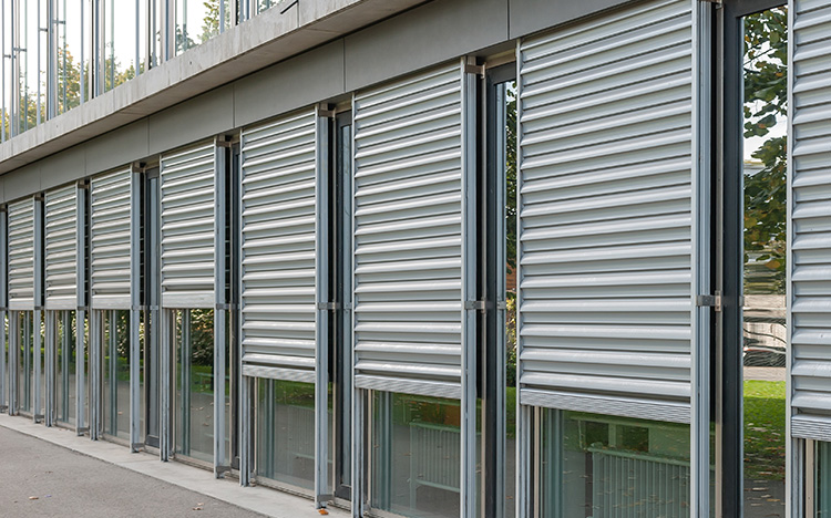 WINDOWS & FACADES Security shutters by STOBAG