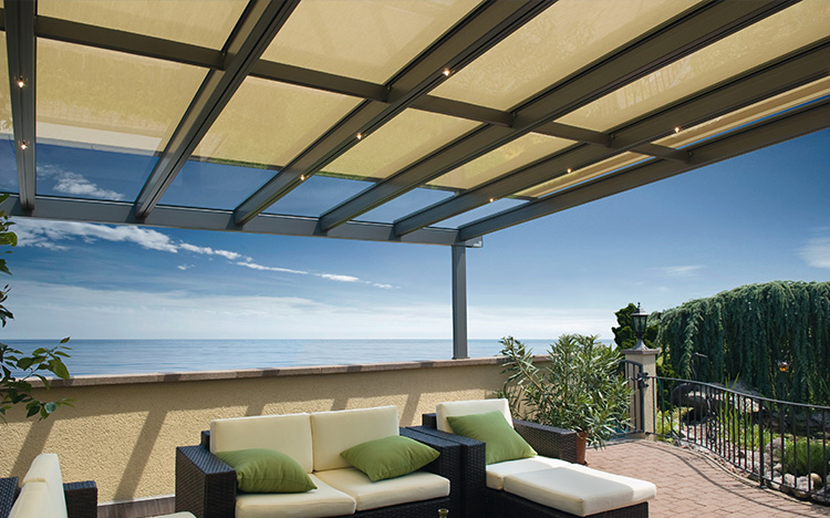 PERGOLAS & PAVILIONS Glass roof systems STOBAG