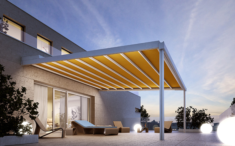 PERGOLAS & PAVILIONS Pergola and terrace awnings by STOBAG